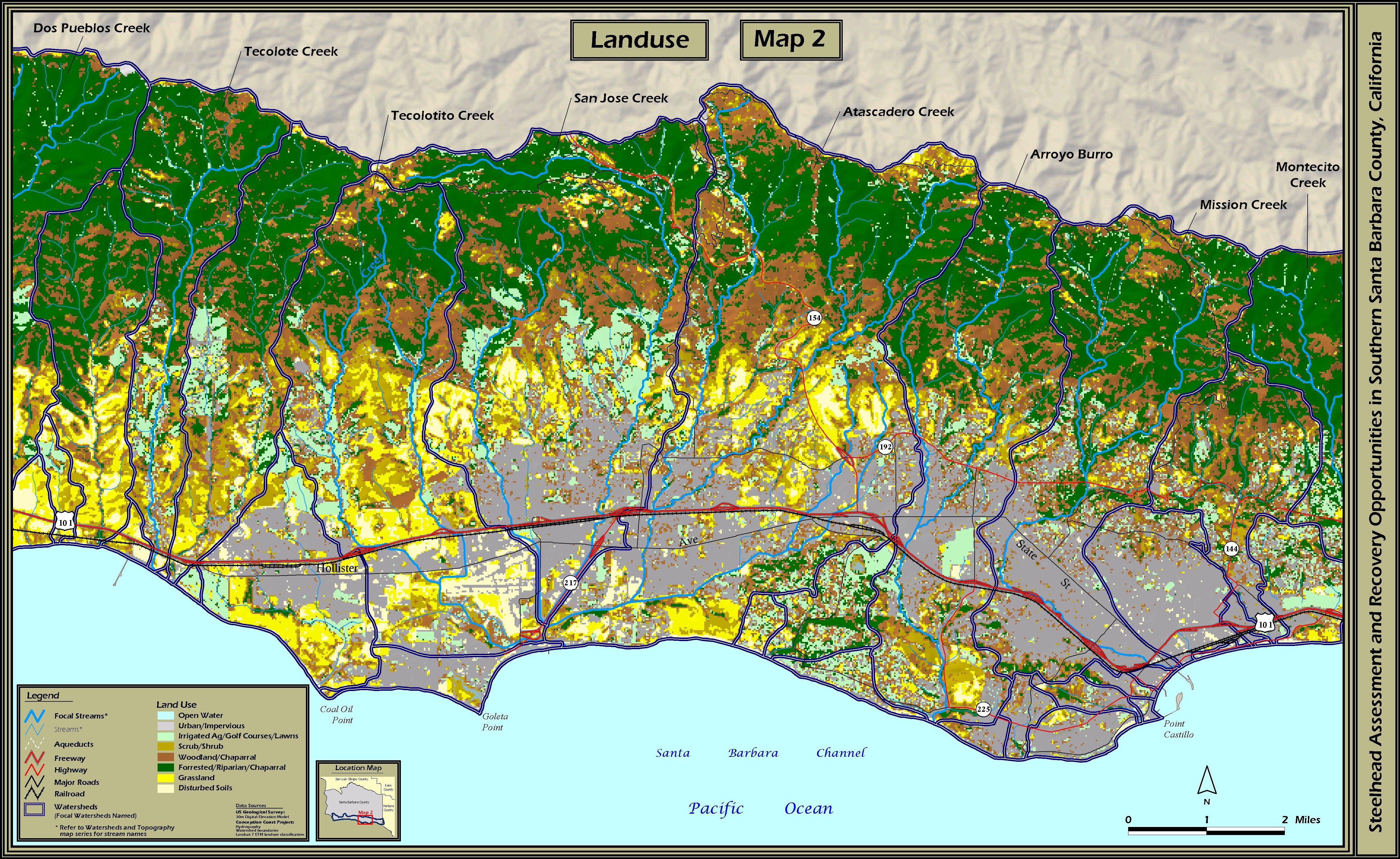 STOECKER ECOLOGICAL Southern Santa Barbara County Steelhead